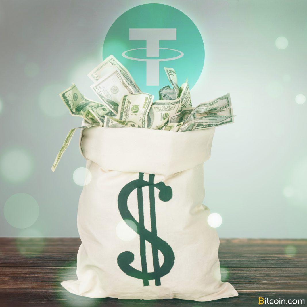 Bloomberg为Tether的支持美元提供支持