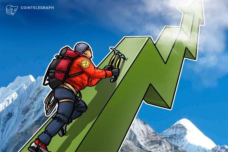 加密货币市场看到上涨的暗示,顶级加密货币保持横向交易