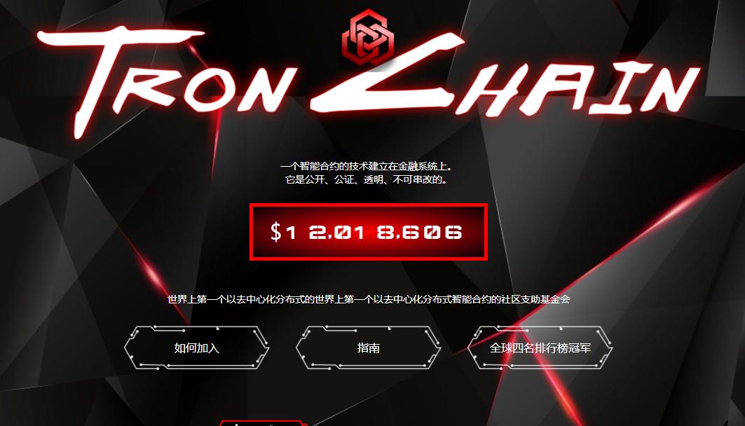 tronchain波场链,波场DAPP排名第一的霸主,合约池几亿个TRX,有什么秘密?