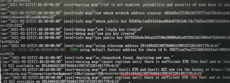 如何查看swarm以太坊存储项目BEE节点支票簿会计帐务明细